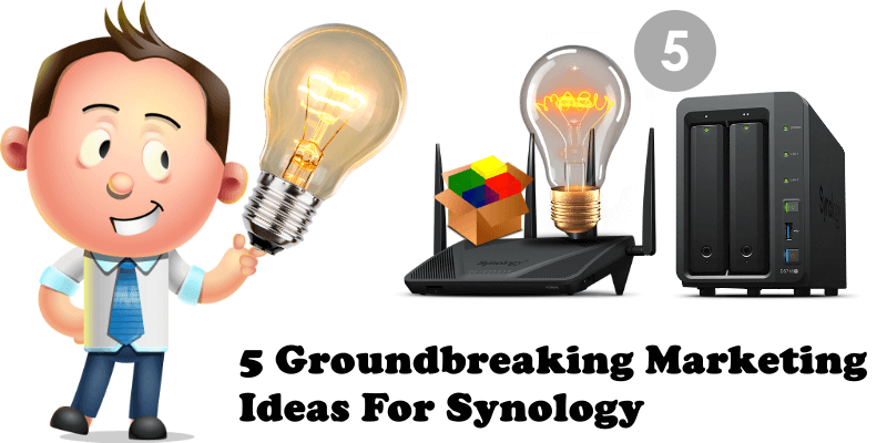 5 Groundbreaking Marketing Ideas For Synology