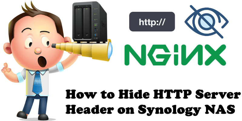 How to Hide HTTP Server Header on Synology NAS
