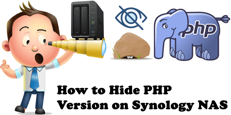 How to Hide PHP Version on Synology NAS