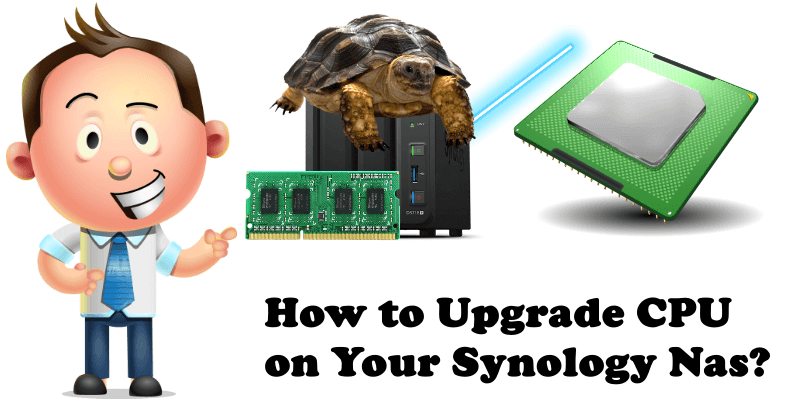 How to Upgrade CPU on Your Synology Nas