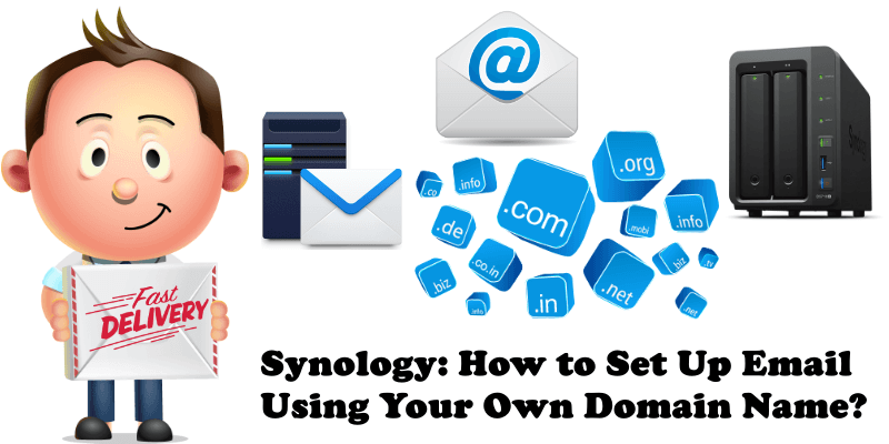 Synology How to Set Up Email Using Your Own Domain Name