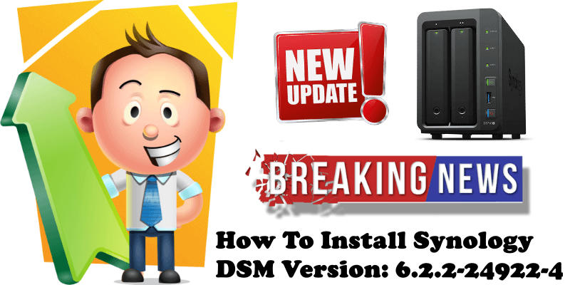 How To Install Synology DSM Version 6.2.2-24922-4