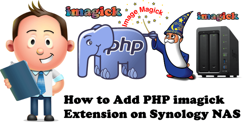 How to Add PHP imagick Extension on Synology NAS