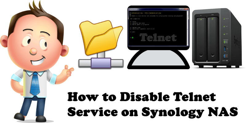 How to Disable Telnet Service on Synology NAS