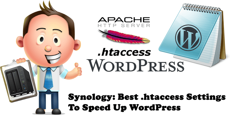 Synology Best .htaccess Settings To Speed Up WordPress