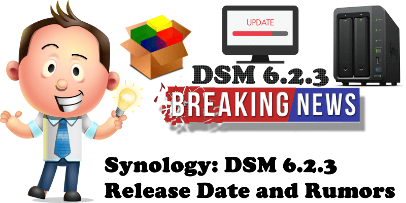 Synology DSM 6.2.3 Release Date and Rumors