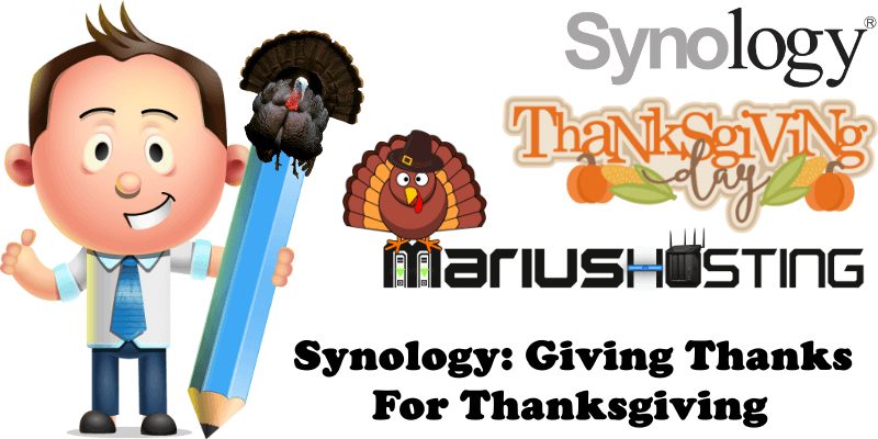 Synology Giving Thanks For Thanksgiving