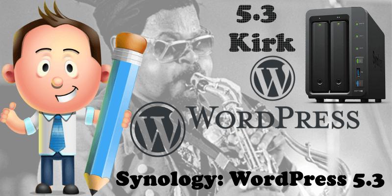 Synology WordPress 5.3