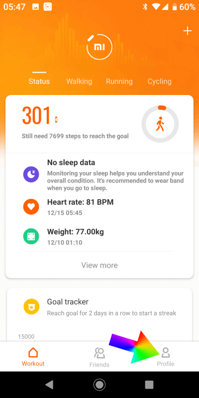 1 xiaomi mi band 4 synology DS audio