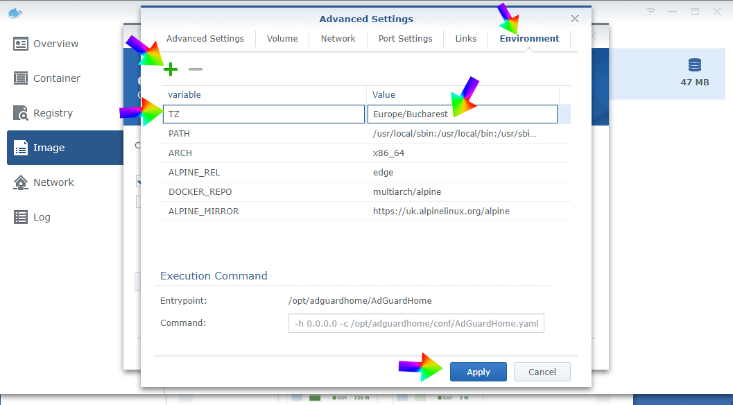 13 AdGuard Synology Docker
