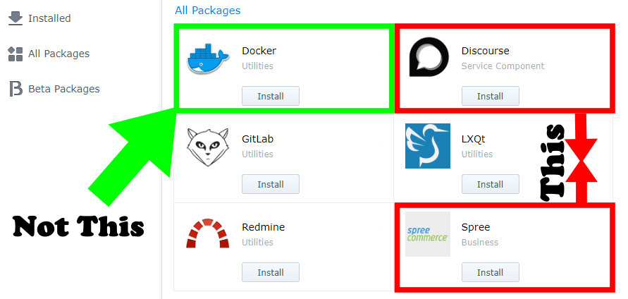 Docker end of life