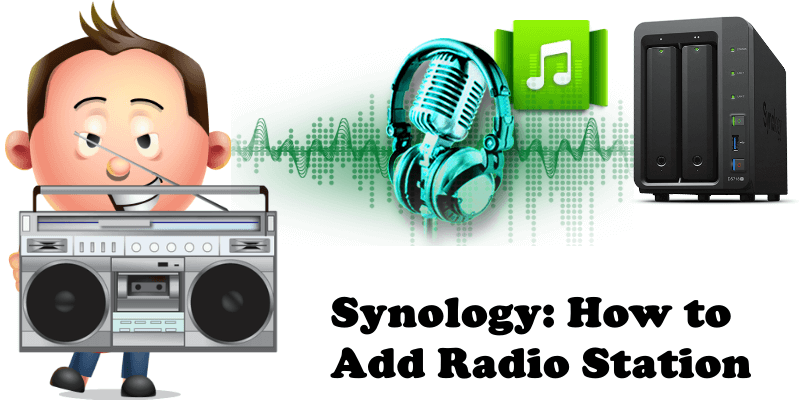 How to add radio station Synology