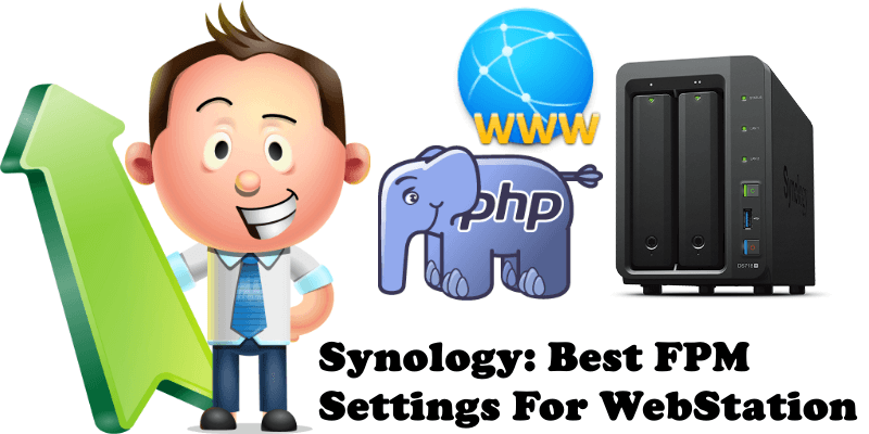 Synology Best FPM Settings For WebStation