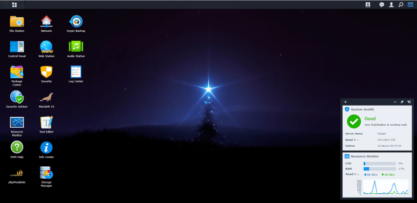 Synology Christmas 2