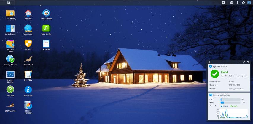 Synology Christmas 5