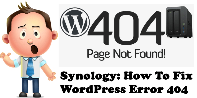 Synology How To Fix WordPress Error 404