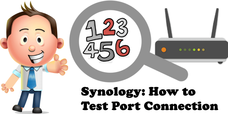 Synology How to Test Port Connection