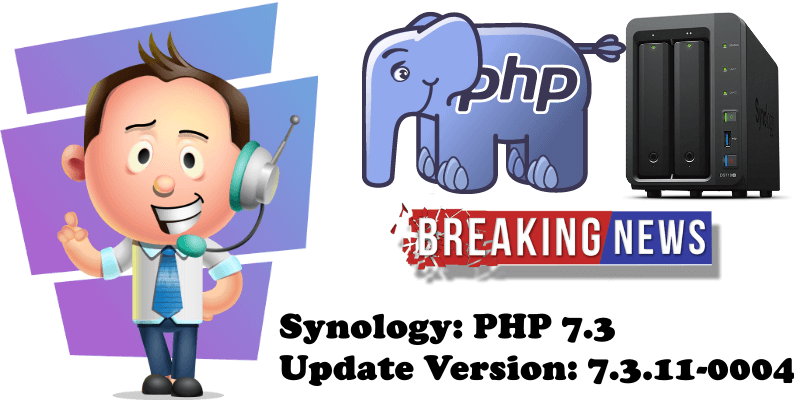 Synology PHP 7.3 Update Version 7.3.11-0004