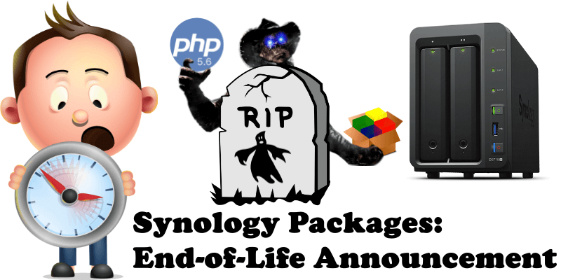 Synology Packages End-of-Life Announcement