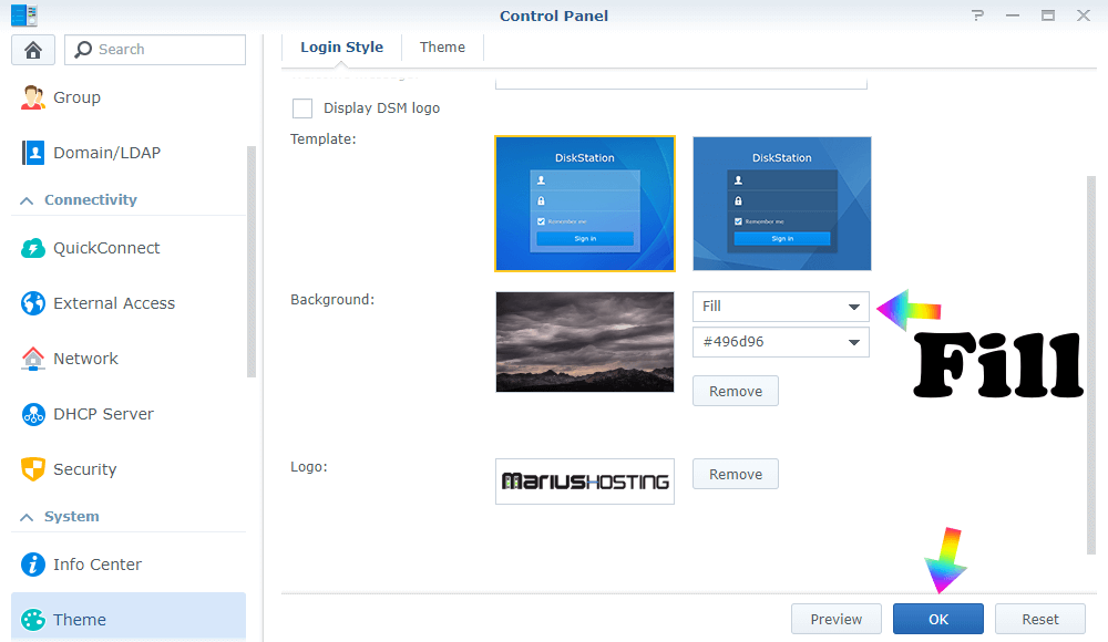 3 Synology Gif Background
