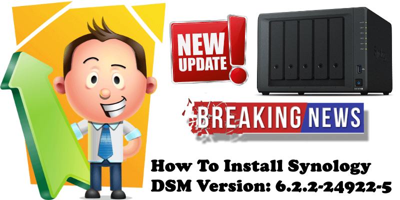 How To Install Synology DSM Version 6.2.2-24922-5
