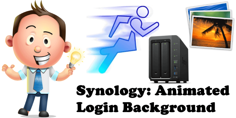 Synology Animated Login Background