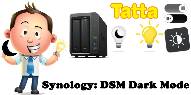 Synology DSM Dark Mode