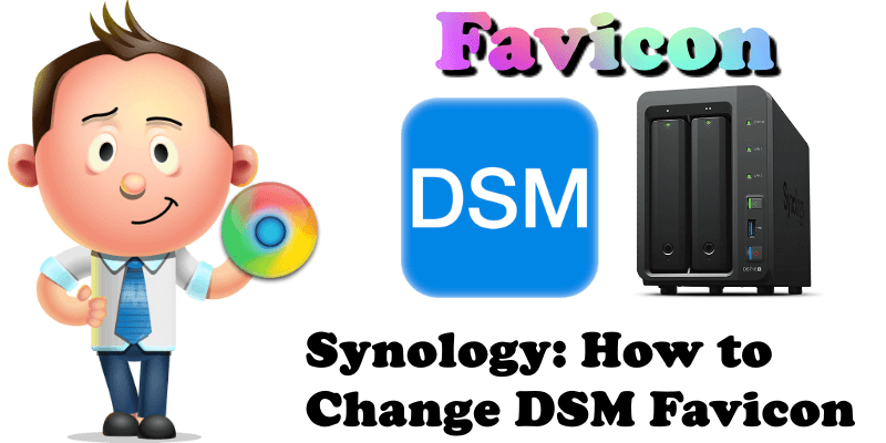 Synology How to Change DSM Favicon