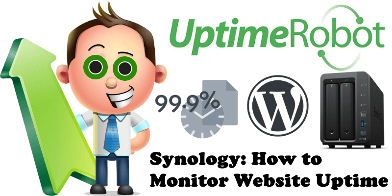 Synology How to Monitor Website Uptime