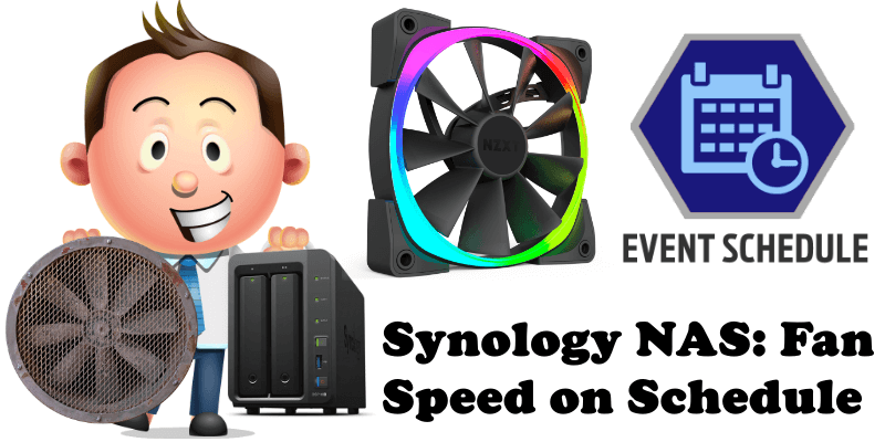 Synology NAS Fan Speed on Schedule