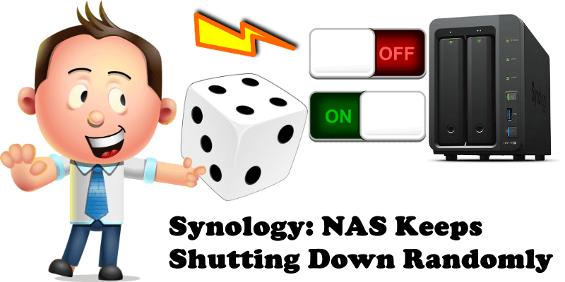 Synology NAS Keeps Shutting Down Randomly
