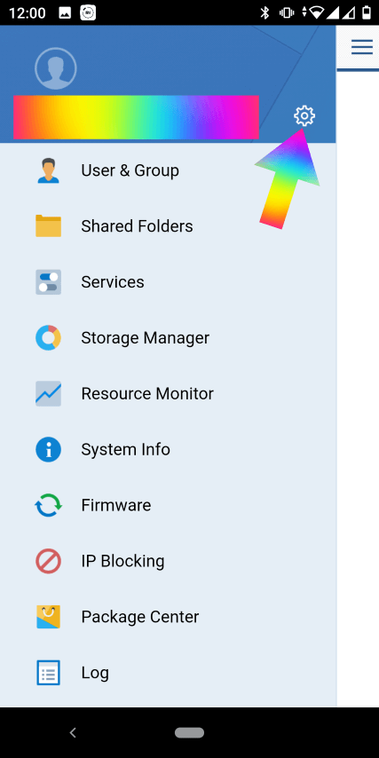 Synology desktop mode on mobile 1