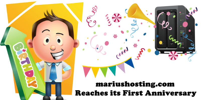 mariushosting.com Reaches its First Anniversary