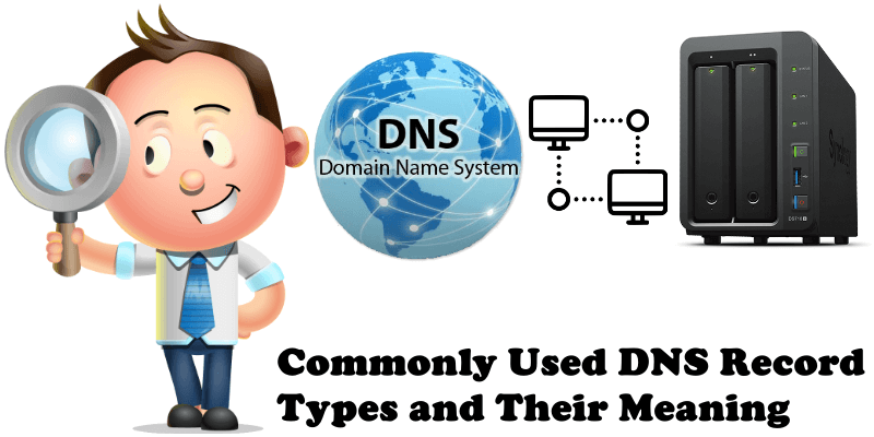 Commonly Used DNS Record Types and Their Meaning