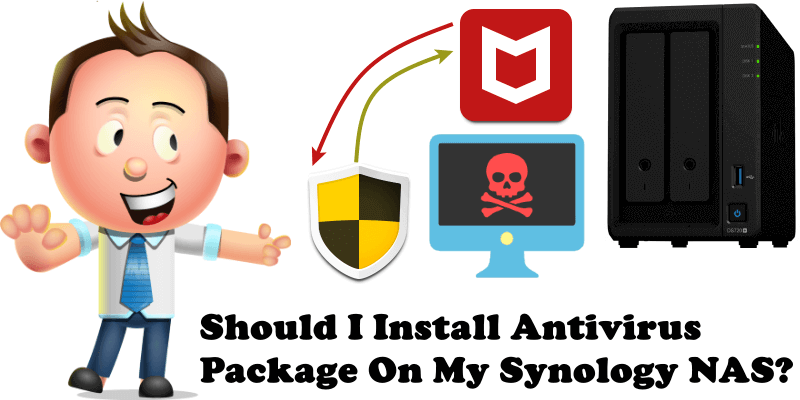 Should I Install Antivirus Package On My Synology NAS