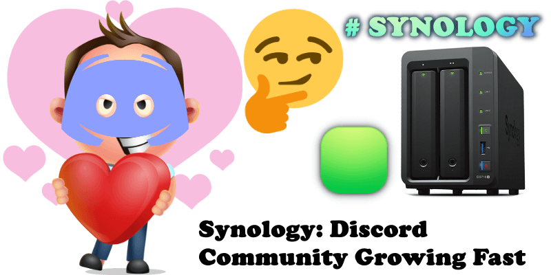 Synology Discord Community Growing Fast