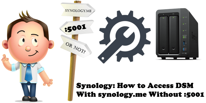 Synology How to Access DSM With synology.me Without 5001