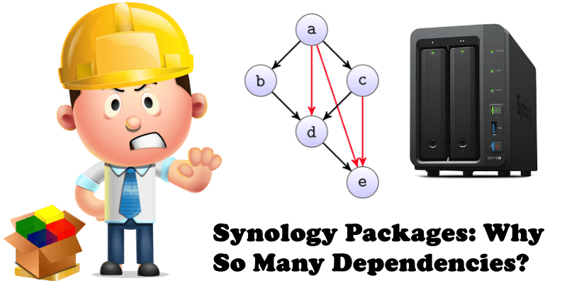 Synology Packages Why So Many Dependencies