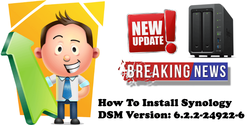 How To Install Synology DSM Version 6.2.2-24922-6