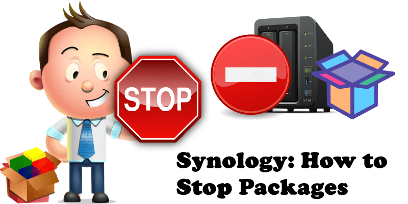 Synology How to Stop Packages