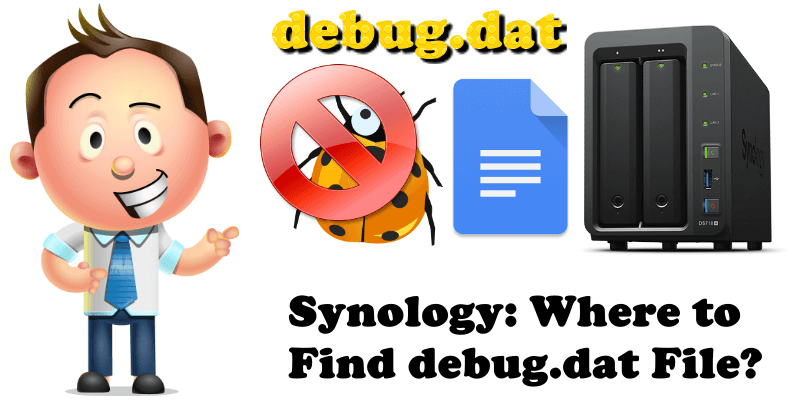 Synology Where to Find debug.dat File