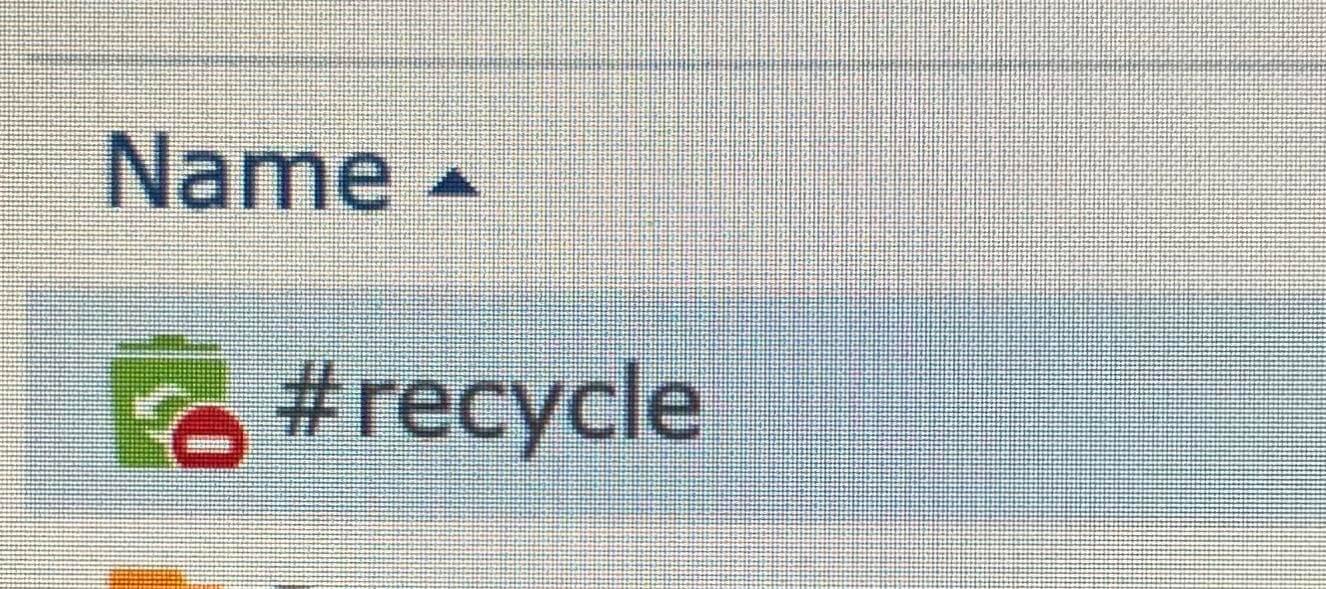 recycle bin Synology NAS deny