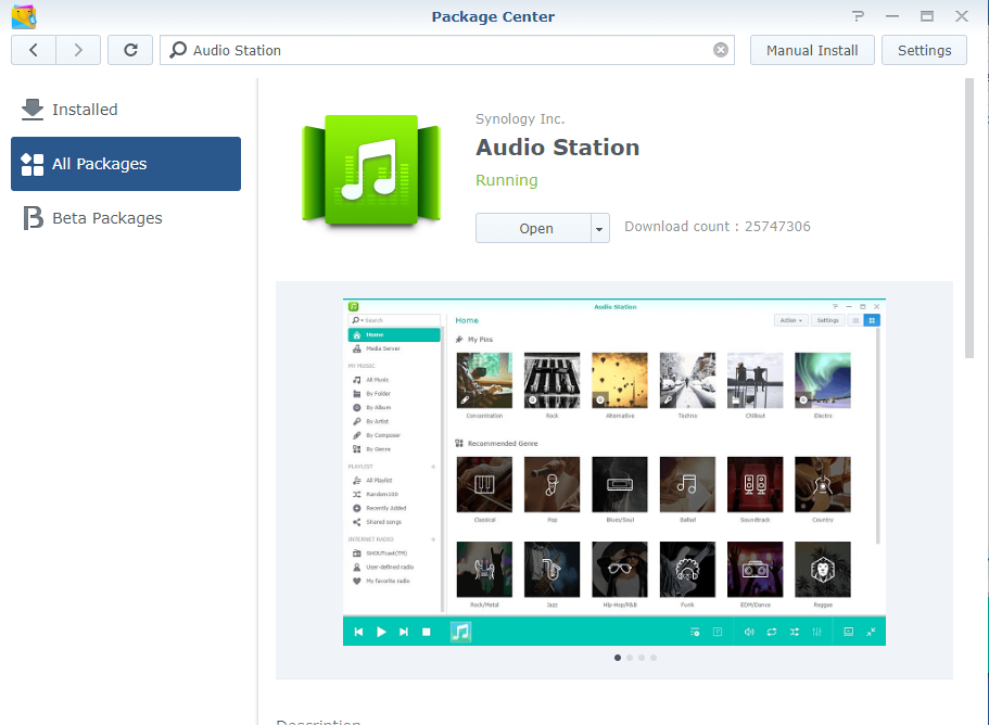 Download Audio Station