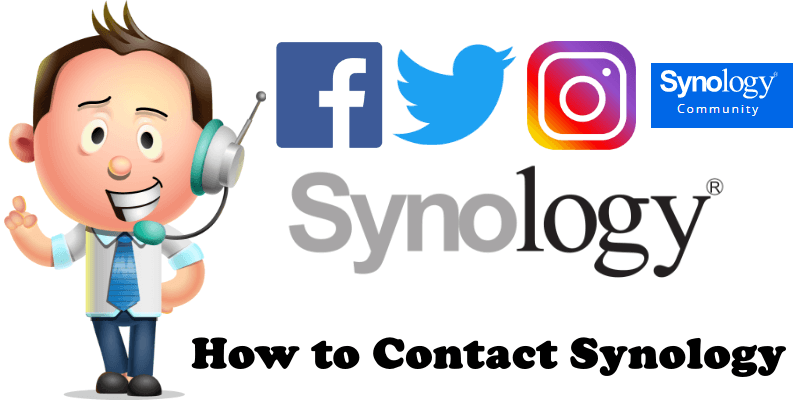 How to Contact Synology