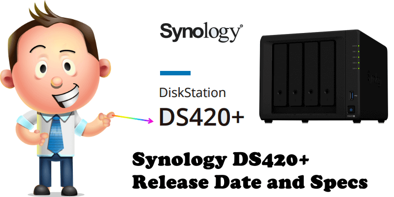 Synology DS420+ Release Date and Specs