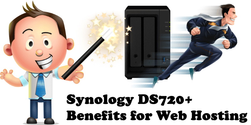 Synology DS720+ Benefits for Web Hosting