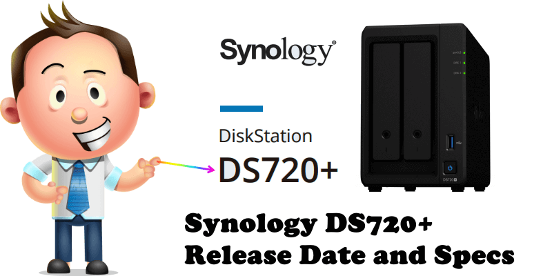 Synology DS720+ Release Date and Specs