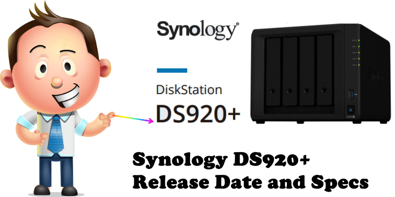 Synology DS920+ Release Date and Specs