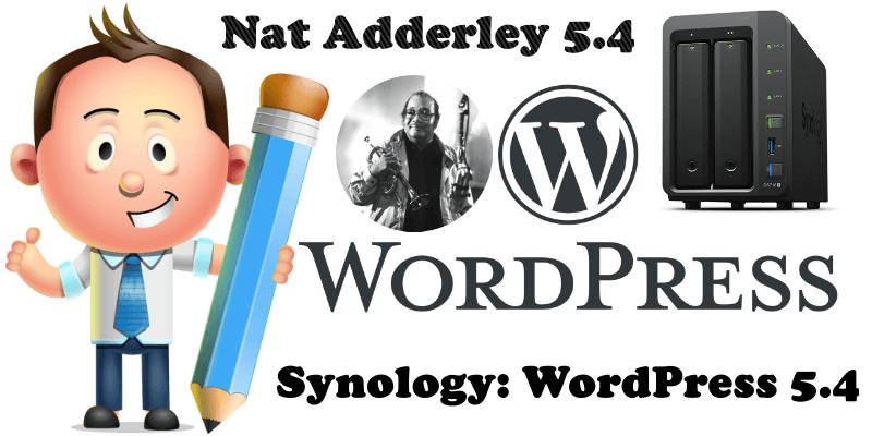Synology WordPress 5.4