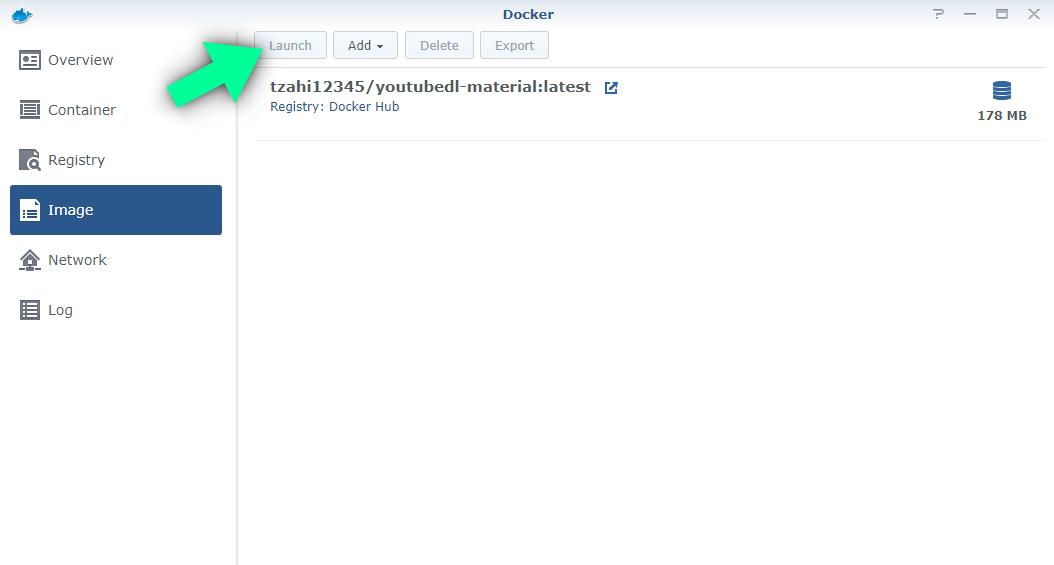 2 Synology YouTube Downloader docker